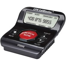CPR V5000 Call Blocker for Landline Phones - Pre-loaded with 5000 known Nuisance Scam numbers - Block a further 1500 numbers at a Touch of a Button - Refurbished
