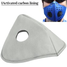 PM2.5 Activated Carbon Replacement Filters for Dual Valve Face Masks 5/10/20pcs