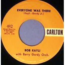 Everyone Was There - Bob Kayli,Berry Gordy Orchestra - vinyl - Used