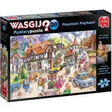 Jumbo Wasgij Mystery 20 Mountain Mayhem! 1000 Piece Jigsaw Puzzle