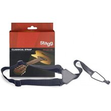 Stagg 20595 Classical Guitar with Ukulele Strap - Black