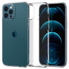 iPhone 12 Pro, 12 Case, Spigen Liquid Crystal Flexible - Crystal Clear