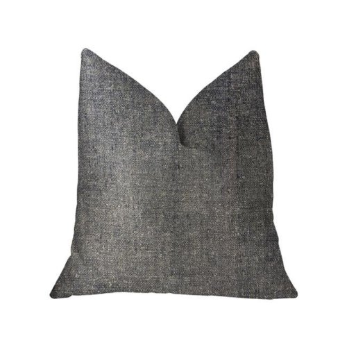 Deep Mantra Charcoal Luxury Throw Pillow, 20 x 36 in. King