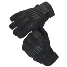 Tactical Full Finger Glove Outdoor Hunting Sport Cycling Slip Resistant Gloves BLACK L