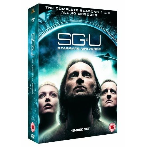 Stargate Universe Seasons 1 to 2 Complete Collection DVD [2011]
