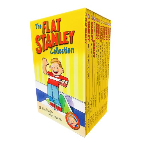The Flat Stanley Adventures Series Collection 12 Books Box Set by Jeff Brown