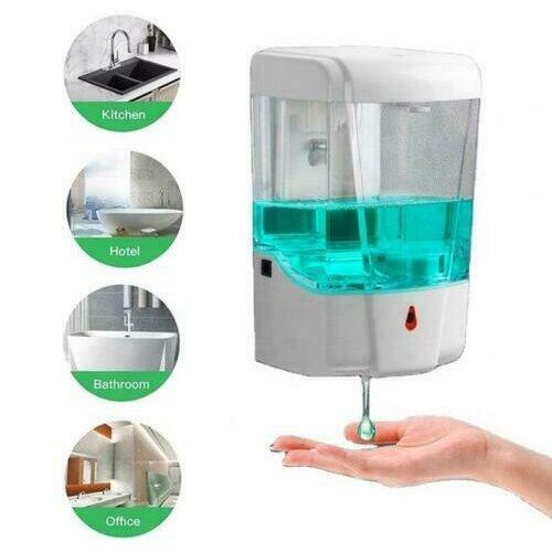 700ml Auto Soap Dispenser Hand Sanitizer Wall Mounted Sensor