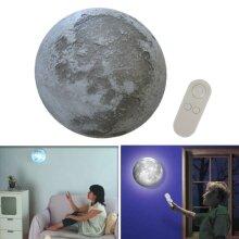 LED Healing Moon Lamp Wall Night Light Remote Control Bedroom Decor
