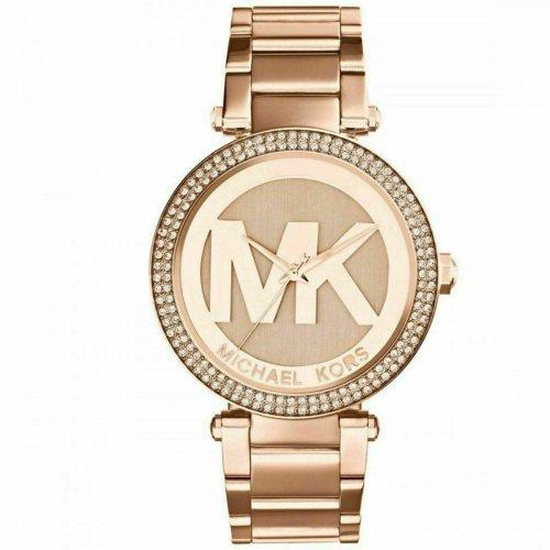 Michael Kors Parker Rose Gold-Tone Ladies Watch MK5865