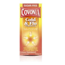 Covonia Cold and Flu Formula - Sugar Free 160ml