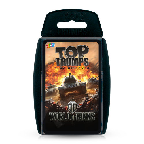 World of Tanks Top Trumps Card Game