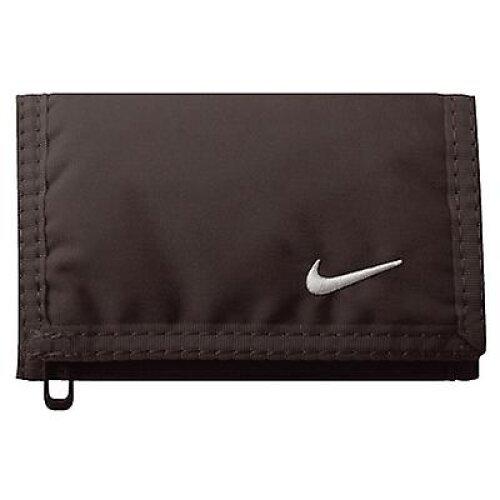 Nike Unisex Black Basic Tri-Fold Wallet