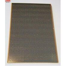 Copper Stripboard 160x100mm FR2 Gold Plated Copper Tracks E003