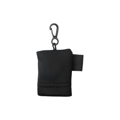 (One Size, Black) Bullet Clear Microfiber Cleaning Cloth In Pouch