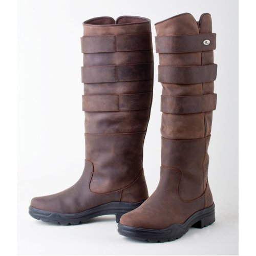 Ladies Colorado Long Leather Stable Country Boots