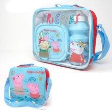 Peppa Pig Childrens/Kids Lunch Set