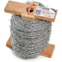 200m roll of Heavy Duty High Tensile Barbed Wire