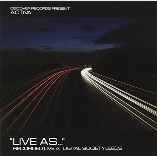 Activa - Live As... [CD]