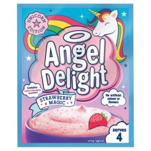 Angel Delight- Strawberry Magic/Unicorn Edition-has colour changing speckles 59g