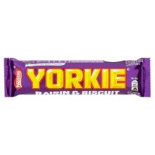 Nestle Yorkie Raisin & Biscuit Chocolate Bars - 24x44g