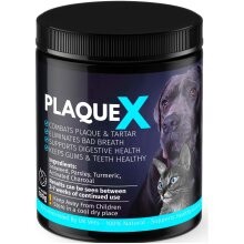 Plaque X 100% Natural Plaque Off & Tartar Remover For Dogs & Cats Breath Freshener For Dogs Cats