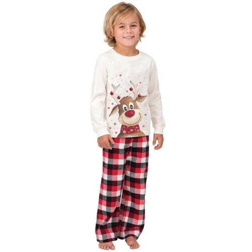 (Kids 4T) Family Matching Christmas Pyjamas Xmas Nightwear Set Festive