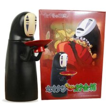 No Face Man Eat Coin Money Box Kaonashi Kids Toy Piggy Bank UK