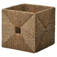KNIPSA Baskets,seagrass, 32x33x32 cm - Fits DRONA EXPEDIT/KALLAX Unit