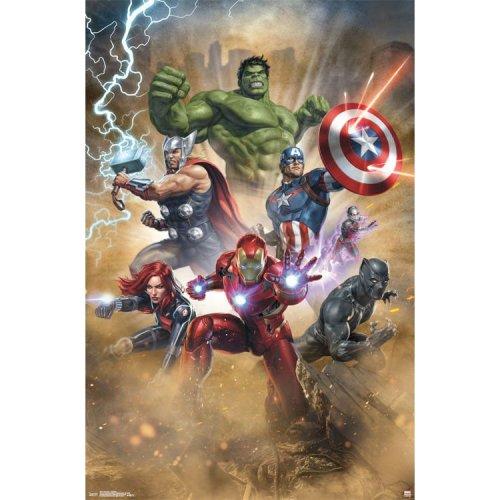 "Poster - Studio B - Avengers - Fantastic 23""x35"" Wall Art p5571"
