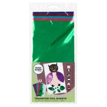 Homehobby by 3L Transfer Foil Sheets Metallic (5 Sheets)