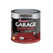 Ronseal 36111 Diamond Hard Garage Floor Paint Steel Blue 5 Litre
