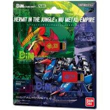 Bandai Dim Card Set Vol.3 Hermit in the Jungle & Nu Metal Empire For Vital Bracelet Series Digital Monster