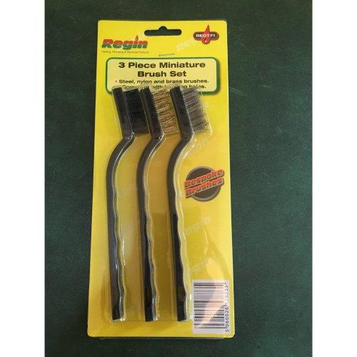 Regin 3 Piece Miniature Brush Set REGT71
