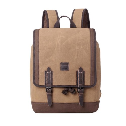 TRP0488 Troop London Classic Canvas Messenger Bag | Buy Bags Online | Canvas Messenger Bags | leather canvas backpack