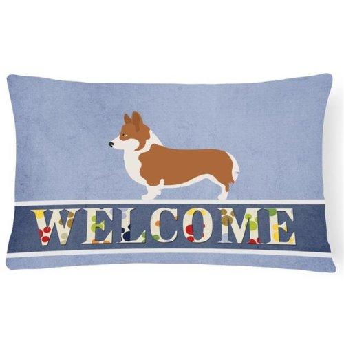 Carolines Treasures Naptime Yellow Labrador Fabric Decorative Pillow Multicolor 12 x 16