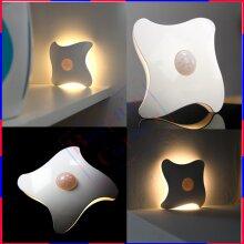 Small and Unobtrusive Starfish Night Light illuminates with Movement Sensor