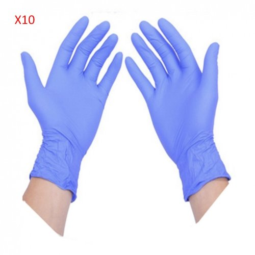 10 Pairs of AMMEX Disposable Anti Static Gloves For Phone Circuit Boards Repair