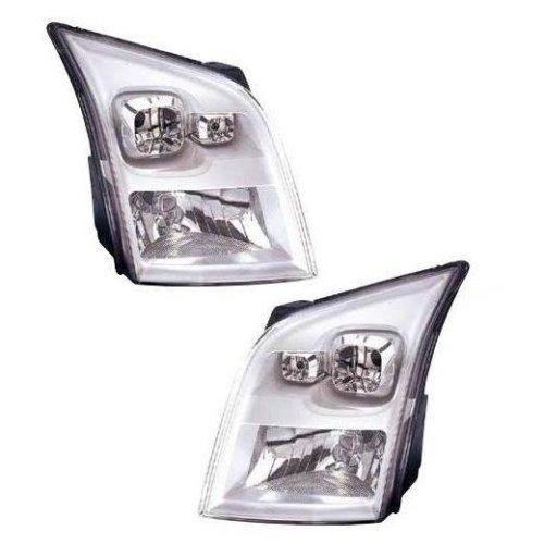 Ford Transit Mk7 Van 7/2006-9/2014 Halogen Headlights Headlamps 1 Pair O/S & N/S