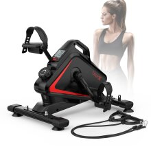 Dripex Mini Magnetic Exercise Bike, 5 Adjustable Resistance&Heart Rate