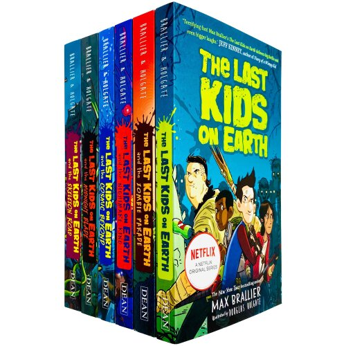 The Last Kids On Earth 6 Books Collection Set