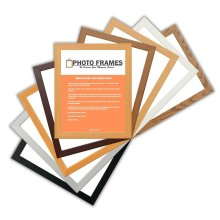 Picture Photo Frames Flat Wooden Effect Photo Frames