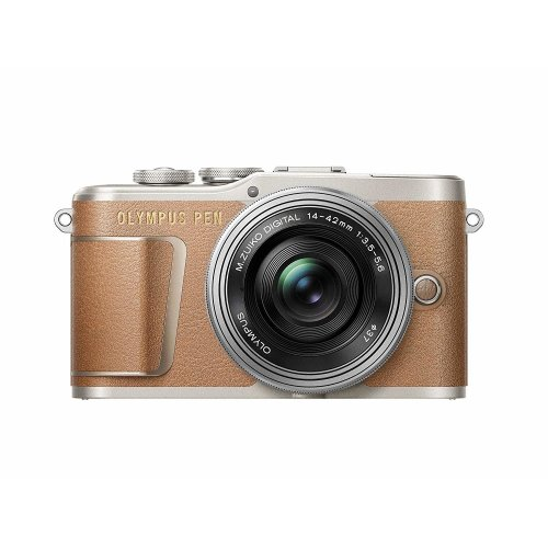 OLYMPUS E-PL9 Brown+14-42mm F3.5-5.6 EZ Silver+SanDisk Extreme 64G SD