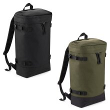 "BagBase Plain Urban Top Loader 15.6"" Laptop Work Travel Rucksack Backpack Bag"