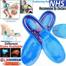 Arch Support Shoe Insole Silicon Gel for Sore Feet