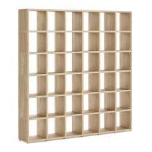 36 Cube Shelf Storage Cube Shelves 2180x2160x330mm