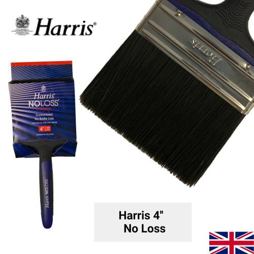 Harris No Loss Paint Brush DIY Decorating Painting 4''