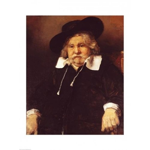 Portrait of An Old Man 1667 Poster Print by Rembrandt Van Rijn - 24 x 36 in. - Large