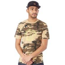 Brixton Camo Battalion Premium T-Shirt - M