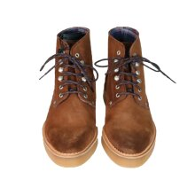 Diesel D Series Men's D-Army Lace-Up Leather Boots