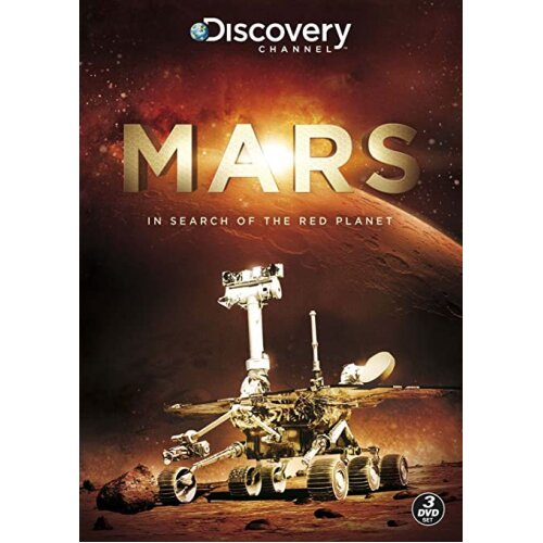 Mars In Search of the Red Planet Discovery Channel- 3 DVD Set New